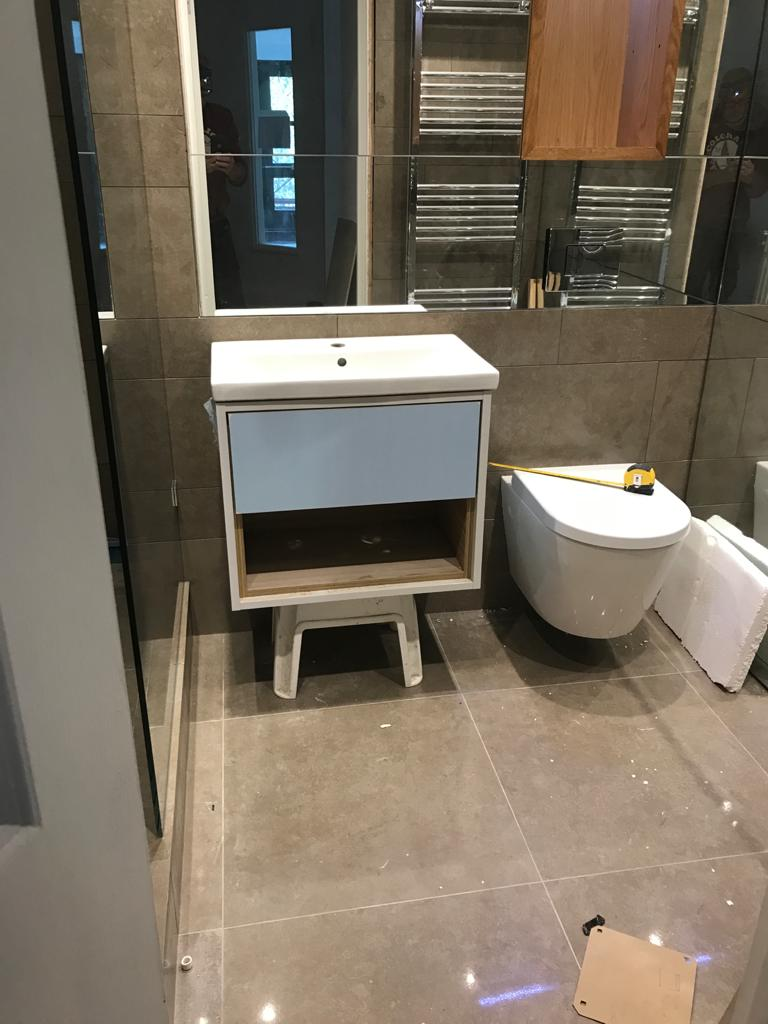 Bathroom-Design-and-Fitting-Greenwich-Blackheath-bespoke-sink-cabenet Greenwich