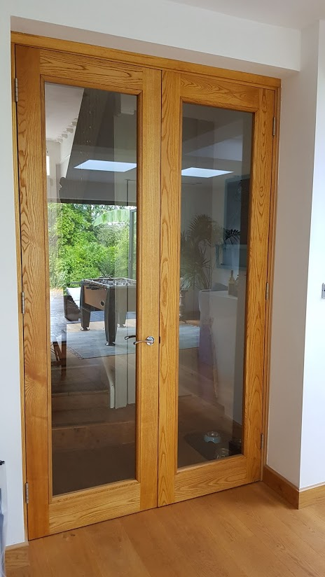 Bespoke Joinery - Wooden and Glass Doors