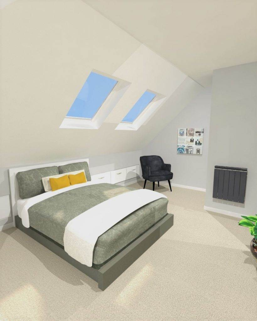 Greenwich Loft Conversion 3D Design