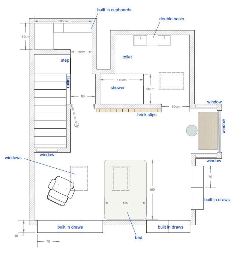 loft conversion 2d plans Greenwich