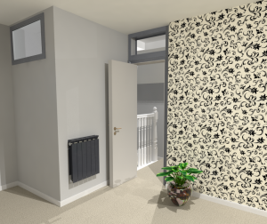 3D Loft Featured Wall Design Greenwich