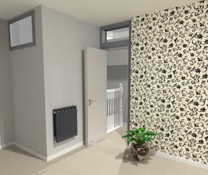 3D Loft Featured Wall Design Greenwich