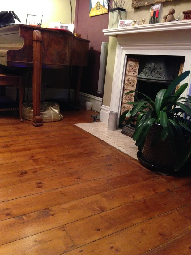 sanding wooden floor boards greenwich